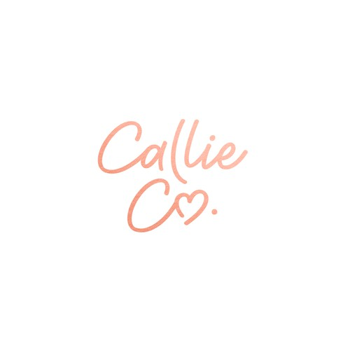 Text logo with the title 'Logo for Callie Co. '
