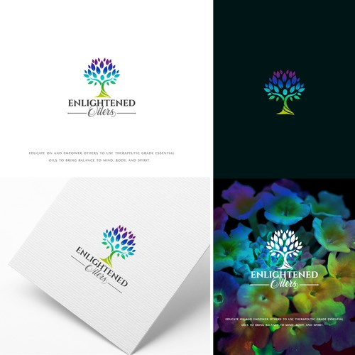 Mental health logo with the title 'Great Logo Design'