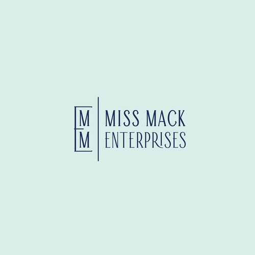 Corporate identity design with the title 'Logo for ' Miss Mack Enterprises' '