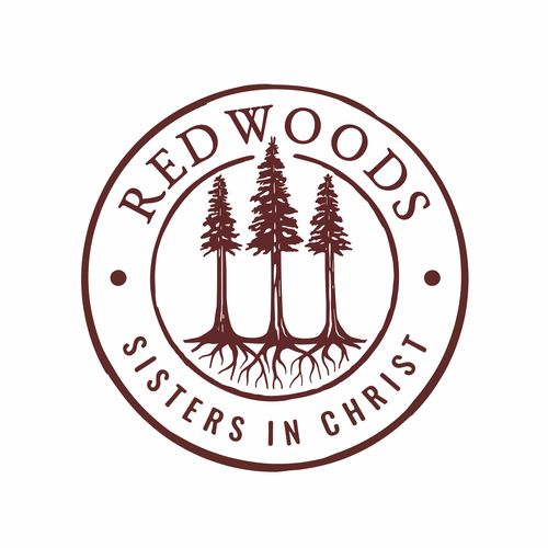 Logo with the title 'Redwoods'