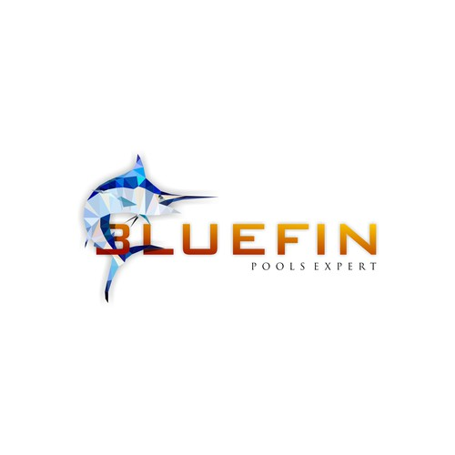 Fin design with the title 'BLUEFIN'