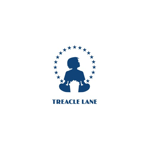 Sky brand with the title 'Treacle Lane logo'