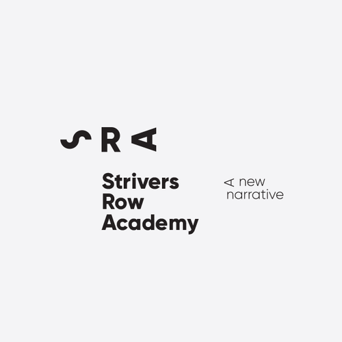Hidden meaning logo with the title 'Strivers Row Academy'