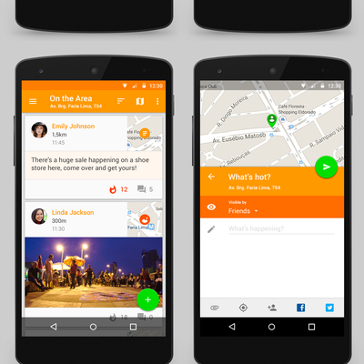 App design for Tangerine