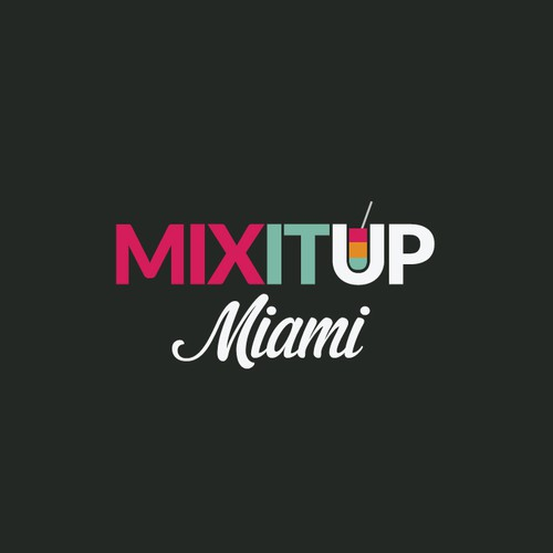 Miami logo with the title 'Help Mix it up Miami with a new logo'