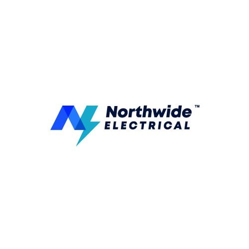 Bolt logo with the title 'Northwide Electrical Logo'