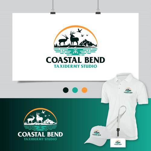 Studio brand with the title 'Coastal Bend Taxidermy Studio'