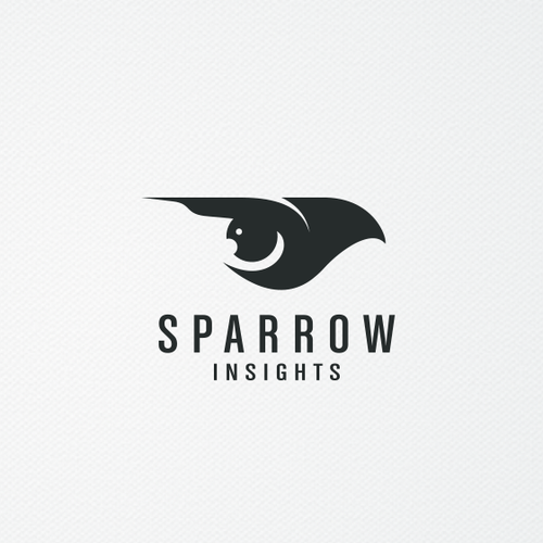 Fly design with the title 'Sparrow Insights'