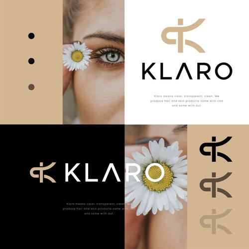 K logo with the title 'Klaro '
