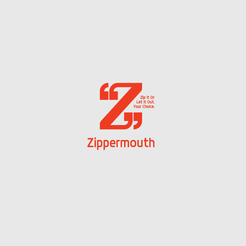 Z logo with the title 'Logo Concept for Goodies Shop'