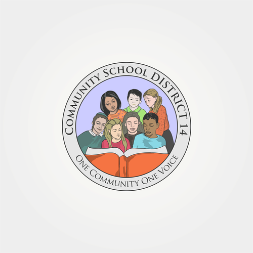 Unity logo with the title 'Community School District 14'