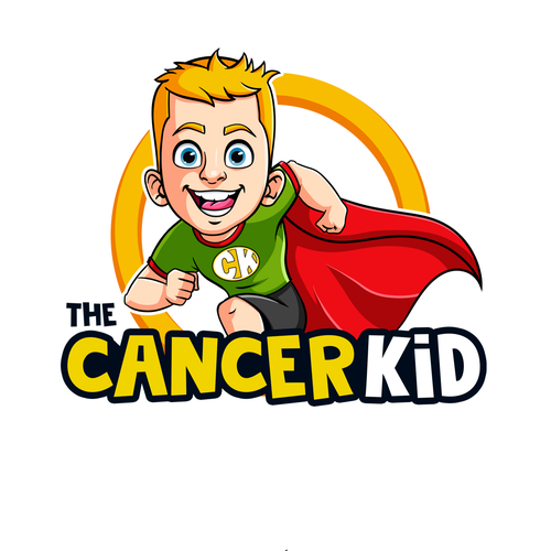 Kid design with the title 'logo'