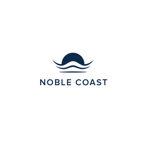 Noble design with the title 'Noble Coast Logo'