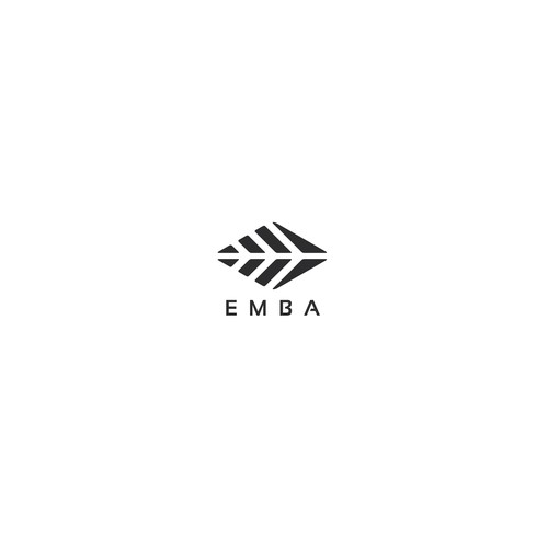 Clothing brand with the title 'Abstract logo for Emba outoor clothing company'
