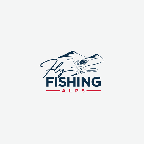 Fly fishing design with the title 'Fly Fishing Instructor'