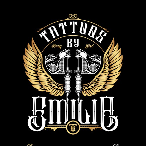 Gatsby logo with the title 'Tattoos by Emilia'