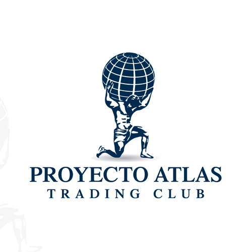 Trading logo with the title 'Proyecto Atlas Trading Group'