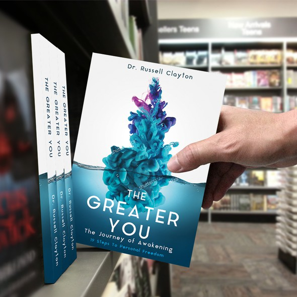 Journey design with the title 'The Greater You'