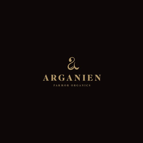 Oil logo with the title 'Arganien'
