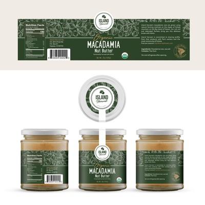 Organic Macadamia Nut Butter