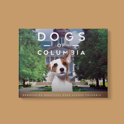 Animal book cover with the title 'Dogs Of Columbia'