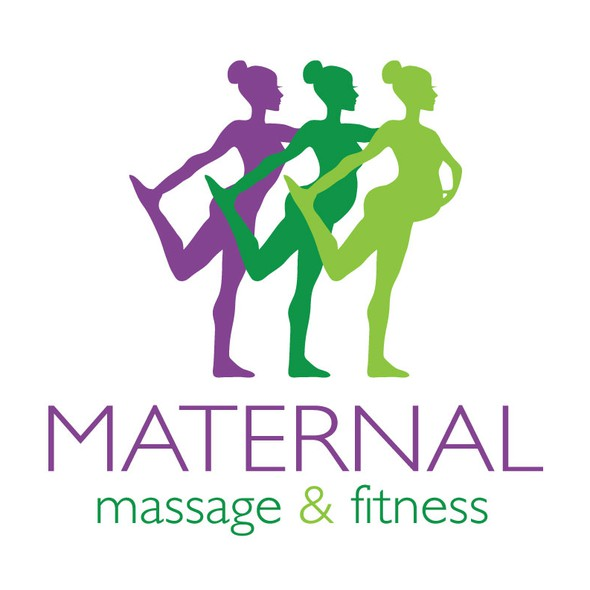 Zumba logo with the title 'New logo wanted for Maternal Massage & Fitness'