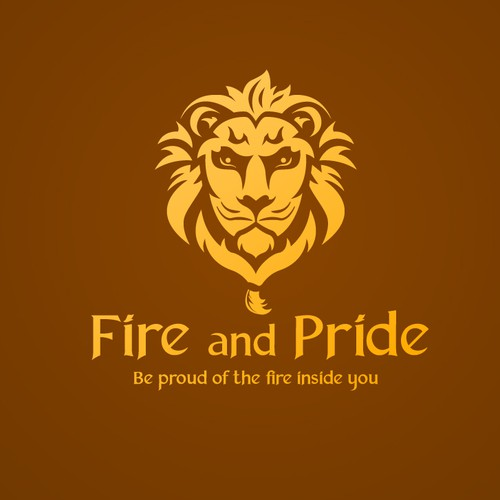 Pride logo with the title 'Fire & Pride logo'