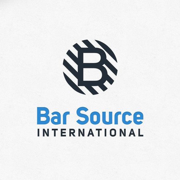 Bar design with the title 'B'