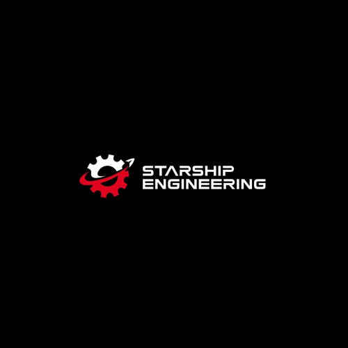 Planet logo with the title 'STARSHIP ENGINEERING'