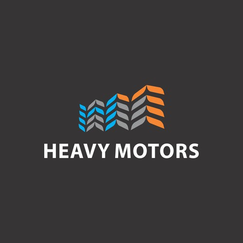 Trail logo with the title 'Logo Concept for Heavy Motors'