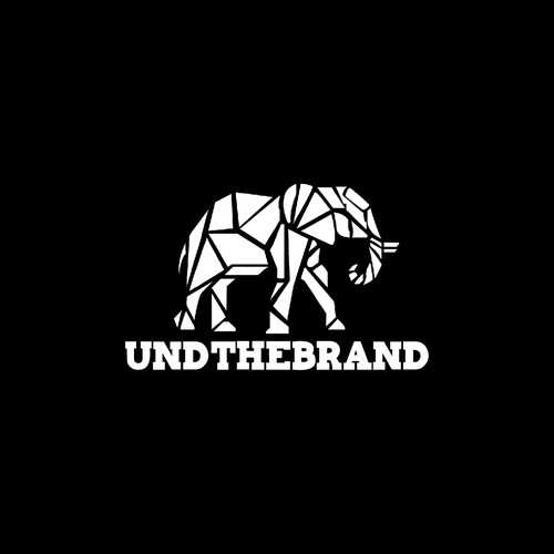 Elephant t-shirt with the title 'logo '