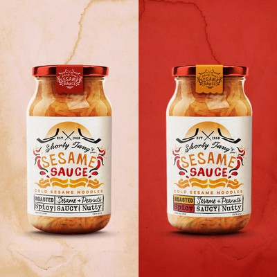 sesame sauce - Shorty Tang & Sons