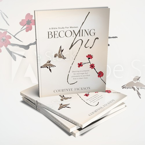 Devotional design with the title 'Devotional Book Cover'