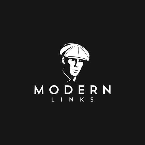Gentleman logo with the title 'modern links'