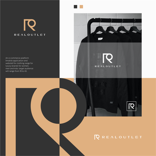 Design with the title 'R + O '