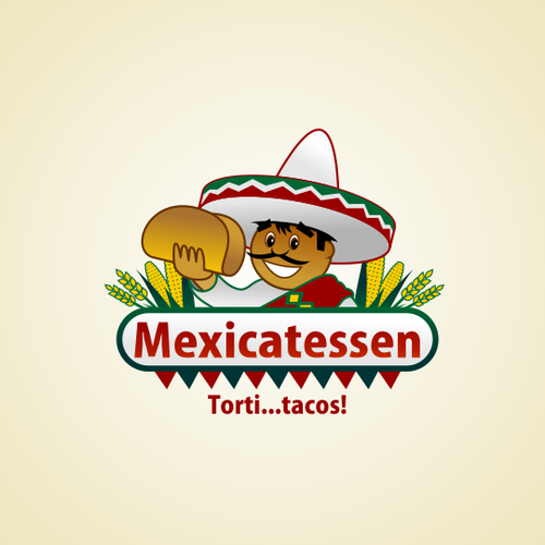 Sombrero design with the title 'Tacos'
