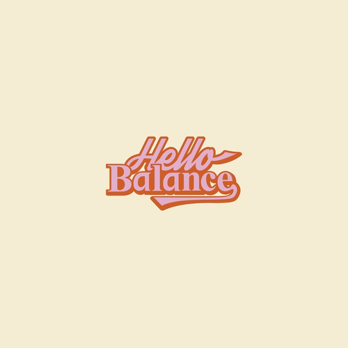 70s logo with the title 'Hello Balance'