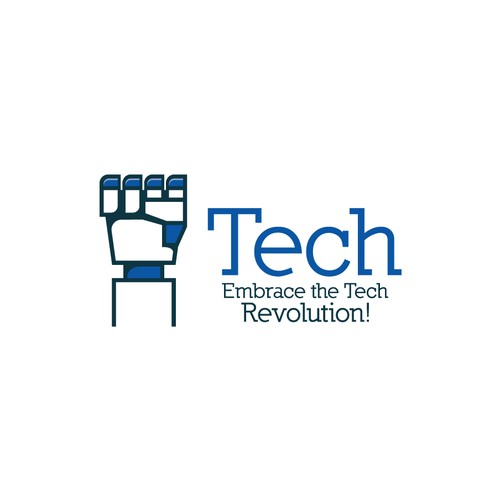 Fist logo with the title 'Tech'