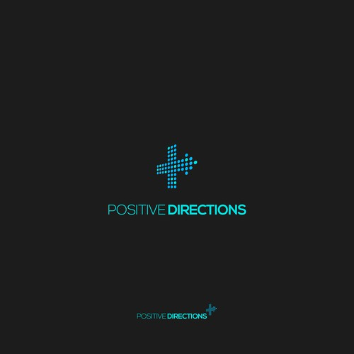 Sign logo with the title 'Positive Directions'