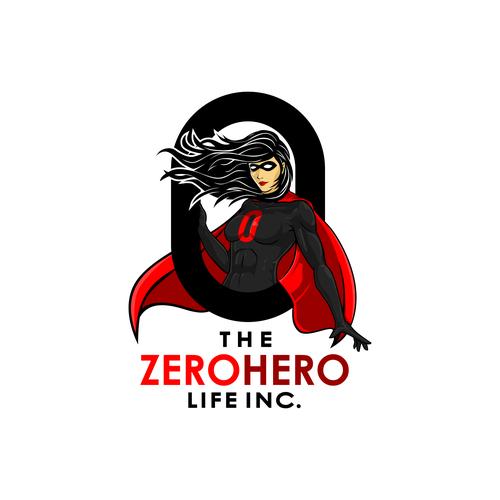 Hero logo with the title 'The ZeroHero Life Inc.'