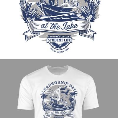 Leadership Day T-shirt design