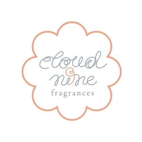 Number 9 logo with the title 'Logo for a fragrance brand (II)'