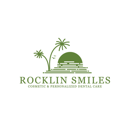 Personalized design with the title 'Logo design of Rocklin Smiles'