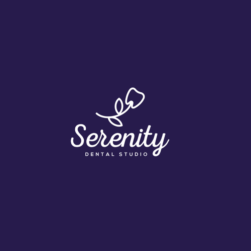Smile brand with the title 'serenity'
