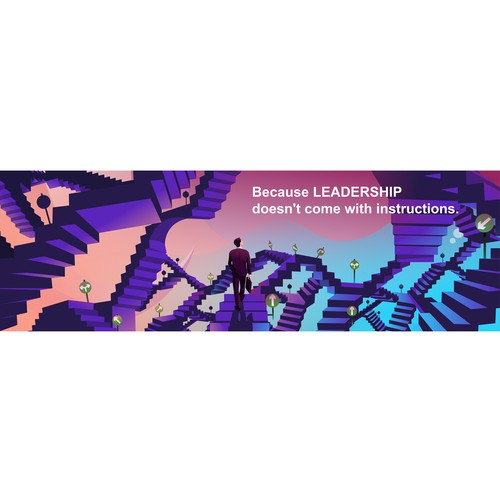 Banner illustration with the title 'CEO Illustration'