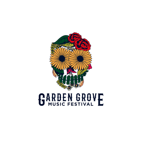 Grapevine logo with the title 'Music Festival Logo'