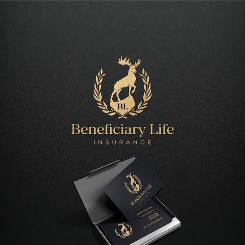 Elk design with the title 'Beneficiary Life'