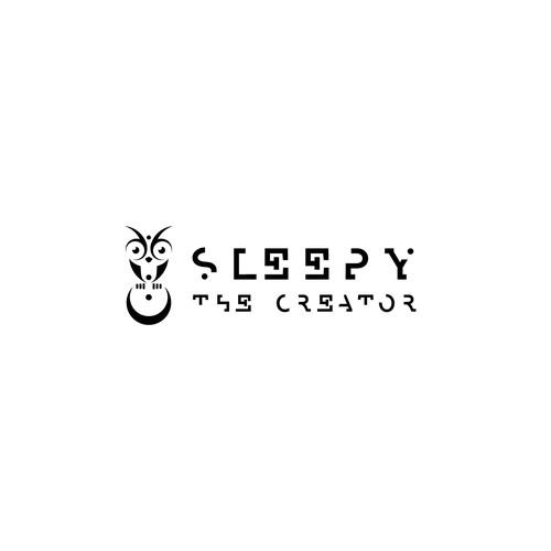 Sleep logo with the title 'Minimal concept for Sleepy The Creator'