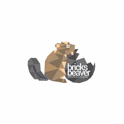 Beaver logo with the title 'beaver logo'