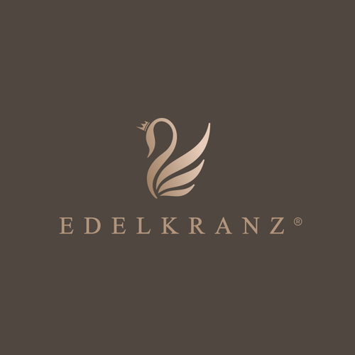 Swan logo with the title 'EDELKRANZ®'